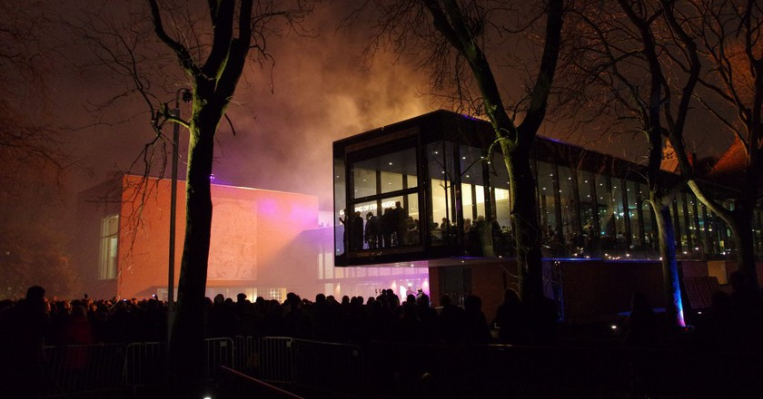 Fireworks at The Whitworth Gallery | © Donald Judge / Flickr