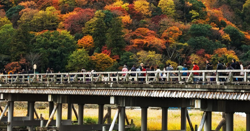 Togetsukyo Bridge|©  Agustin Rafael Reyes Flickr