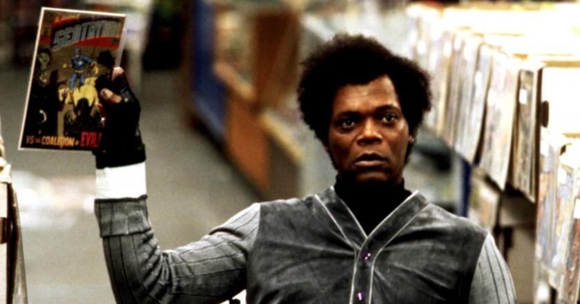 Samuel L. Jackson in 'Unbreakable'   © Buena Vista Pictures