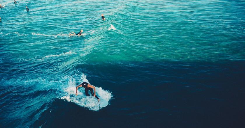 Surfing © Pexel