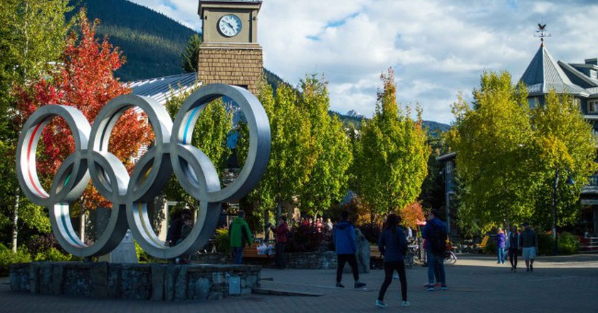 Whistler's Olympic Village | © Hayley Simpson