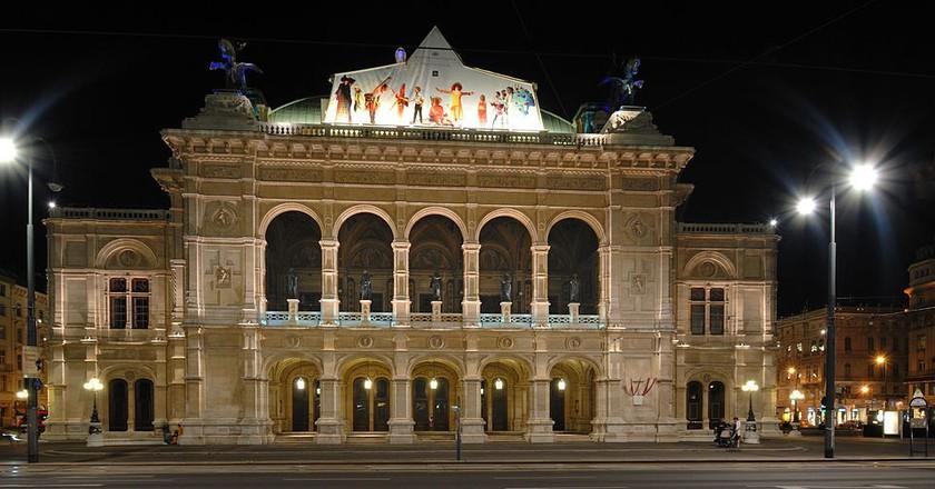Vienna State Opera   © Peter Haas/ Wikimedia Commons