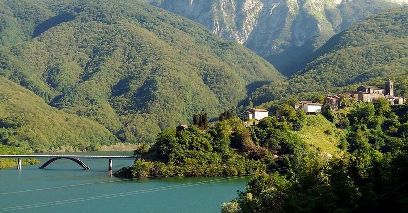 The town of Vagli di Sotto   © Davide Papalini
