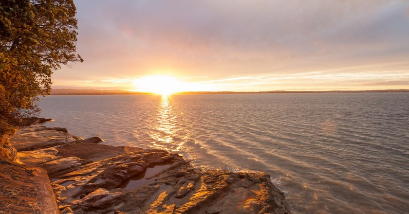 Sunset at Point Chevalier   © russellstreet/Flickr