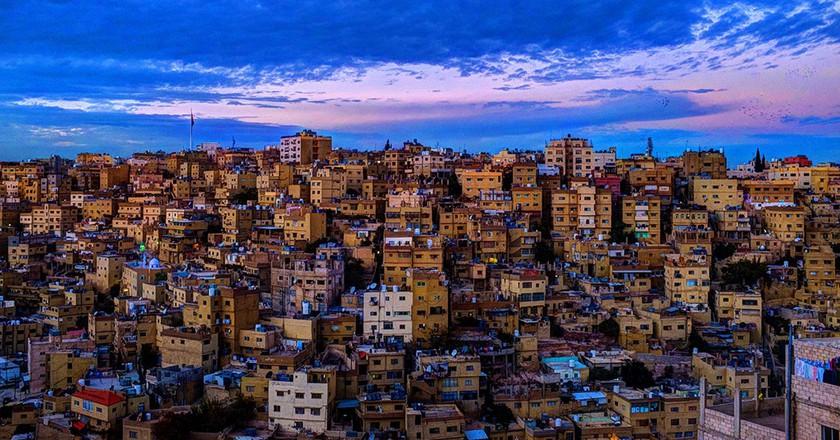 A Classical View of Amman © Mahmood Salam