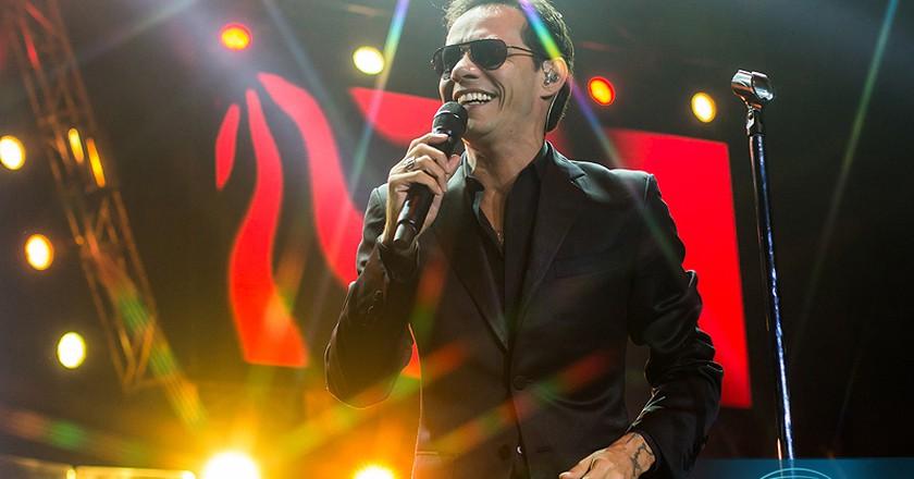 Popular Latin singer Marc Anthony | © Claudio Poblete/Flickr