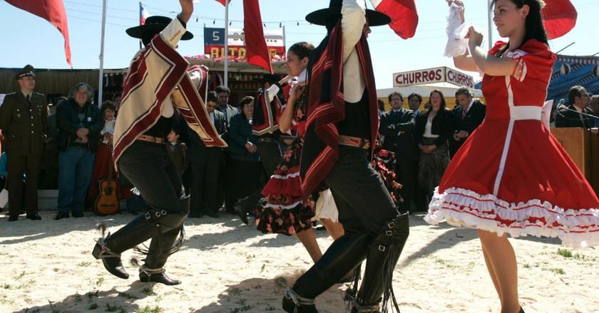 National Dance Cueca © Turismo Chile