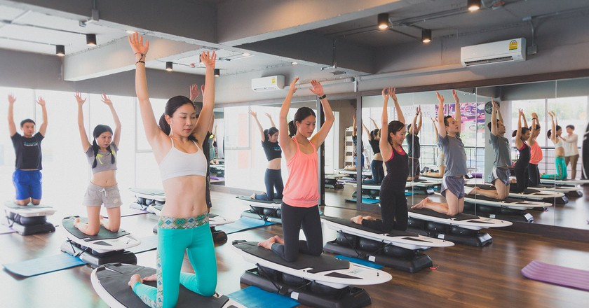 Hip Studios For a Great Workout in Bangkok
