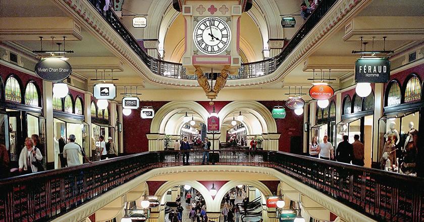 Inside the Queen Victoria Building Mall, Sydney | © Thomas Depenbusch/Flickr