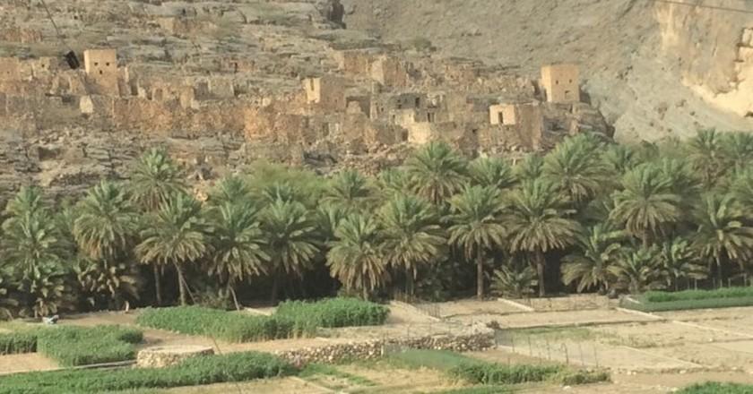 Ancient traditional Omani village | © Sharifa Al Badi