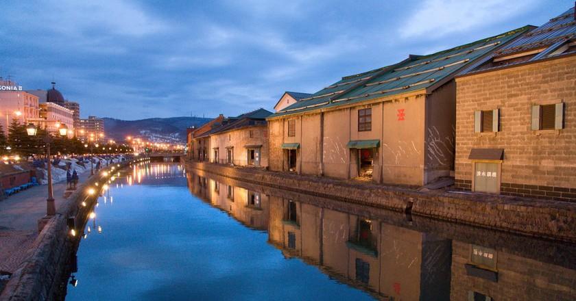 Otaru Canal at Dusk (HOKKAIDO/JAPAN)   ©Chi King / Flickr