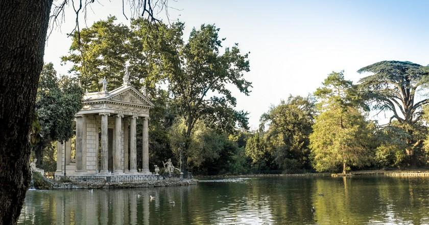 Lake at Villa Borghese   © carlosreusser/Flickr