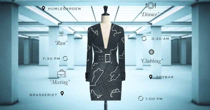 The dress is a joint project between Google and Ivyrevel. | Courtesy Ivyrevel.