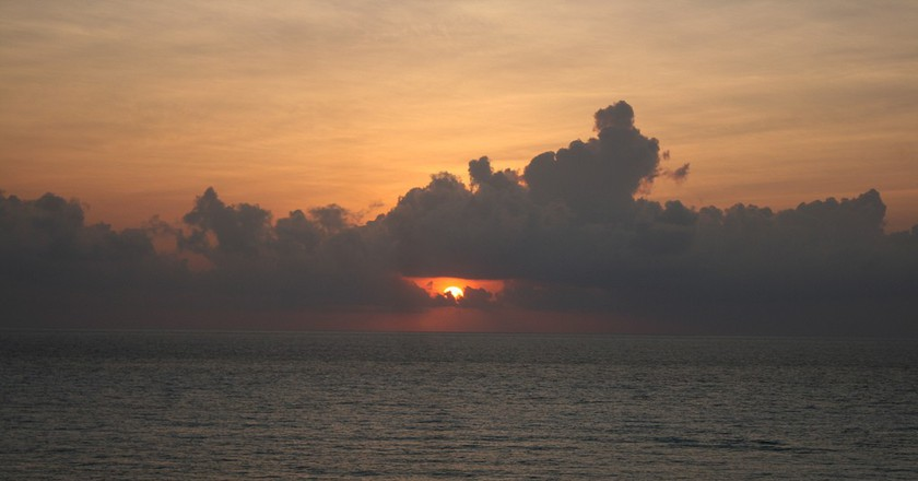 Sunrise over Caribbean Sea©Patrick/Flickr