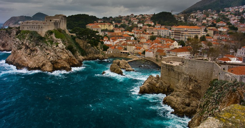 Lovrijenac and Bokar Fortresses, Dubrovnik, Croatia © Flickr/Víctor González