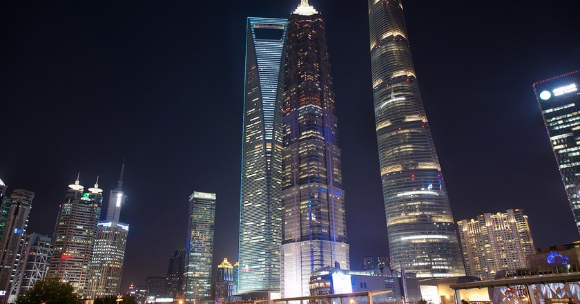 Shanghai Tower | ©Nan-Cheng Tsai/Flickr