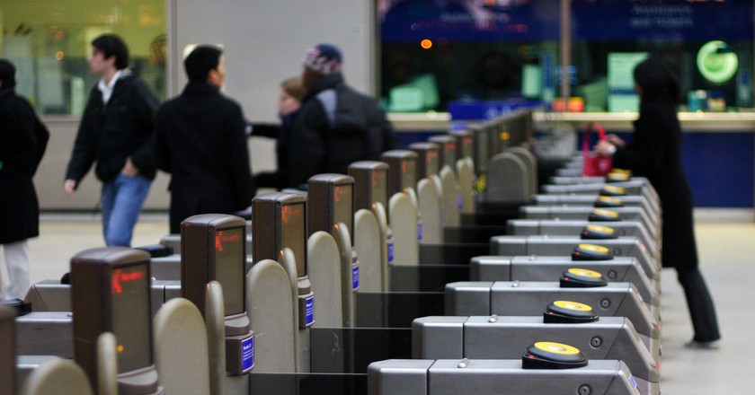 Ticket barriers. | Courtesy Tom Page, Flickr.