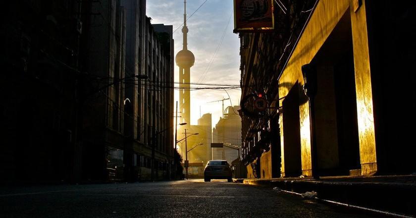 Shanghai Sunrise | © smwhang/flickr