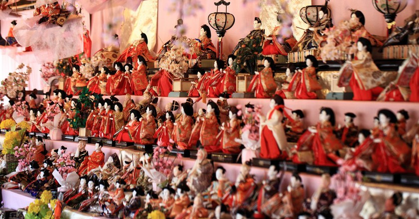 Hina dolls for the Hinamatsuri |  © TANAKA Juuyoh / Flickr