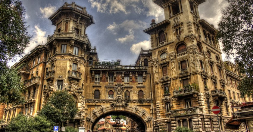 Entrance of the Coppedè district |  © nephelim/Flickr