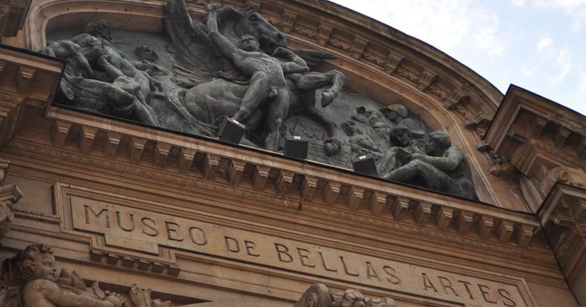 Museo de Bellas Artes | © Krzysztof Pawliszak    1/500sec @f/5.6, ISO200 55mm @    Manual,