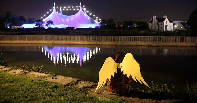 The Big Top Tent at the Galway International Arts Festival | © Barnacles Budget Accommodation / Flickr