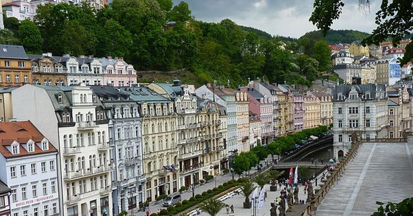 Downtown Karlovy Vary / ©PTGDudva / Flickr