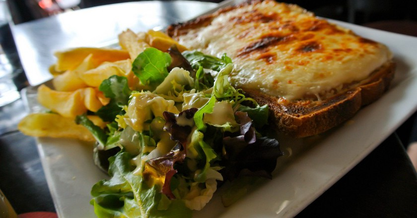 The Croque Monsieur is a French staple and delicious | © Kurtis Garbutt/flickr
