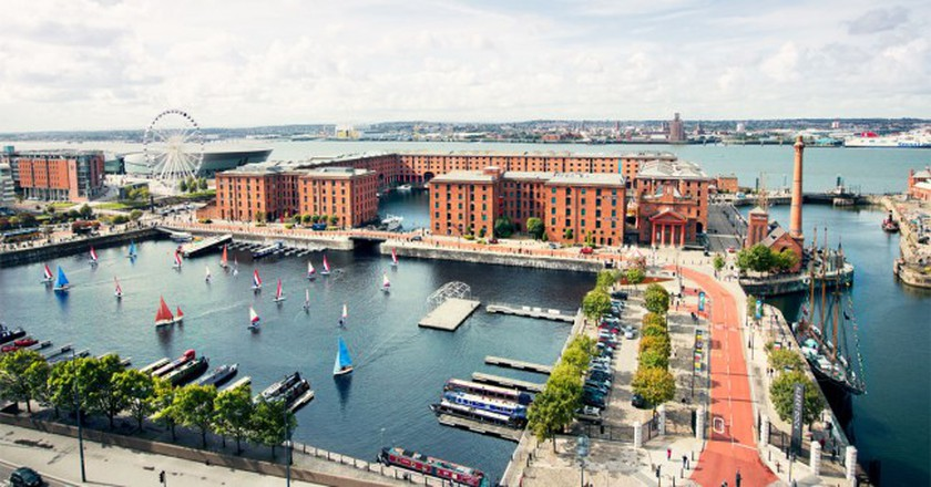 Bird's eye view of Albert Dock | © albertdock.com