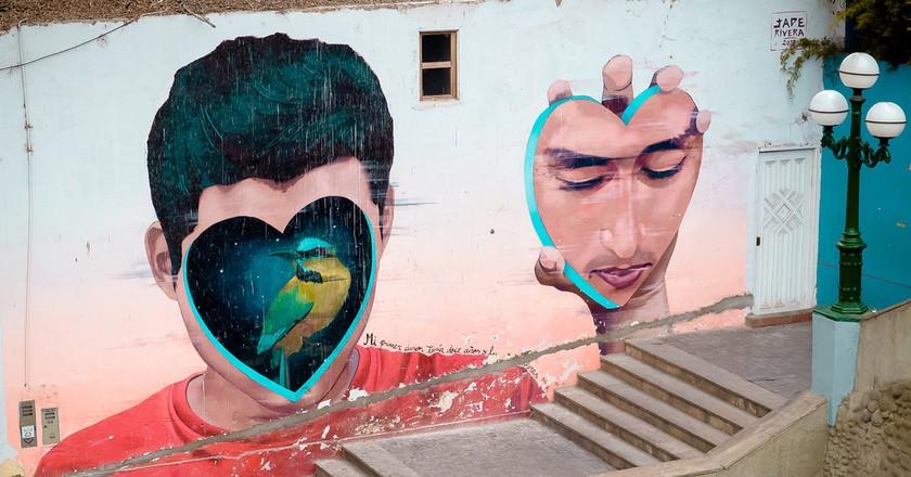 Street art in Barranco   © Art DiNo/Flickr