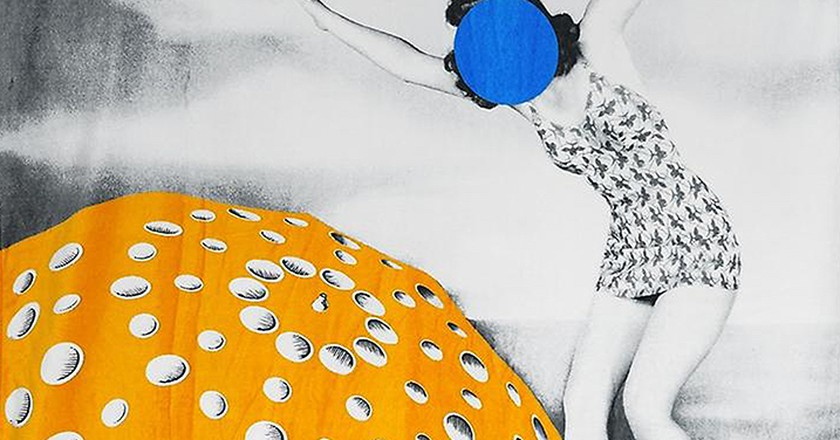 Detail of Beach Towel © John Baldessari. Courtesy of Marian Goodman Gallery London