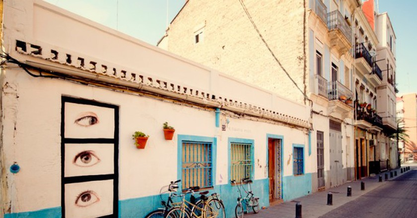 El Cabanyal, Valencia | Photo courtesy of Valencia Tourism