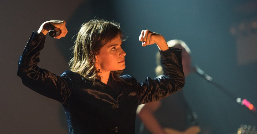 Christine and the Queens on November 11, 2015, at Webster Hall, New York │© Steven Pisano / WikiCommons