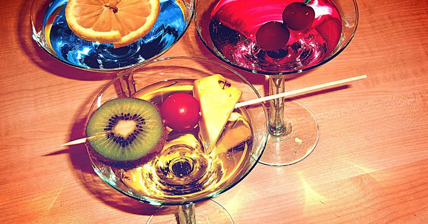 Alcohol may stimulate the part of the brain that signals hunger.