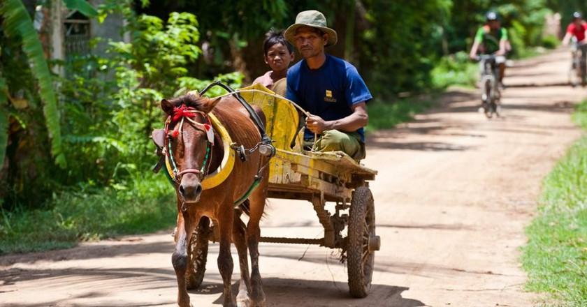 Discover Koh Dach by bike © Grasshopper Adventures