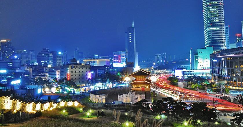 Dongdaemun City Wall Park | © Linda Dunsmore