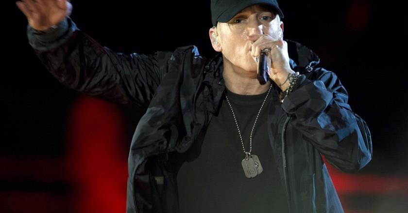 Eminem will headline on Saturday and Sunday | © Wikicommons