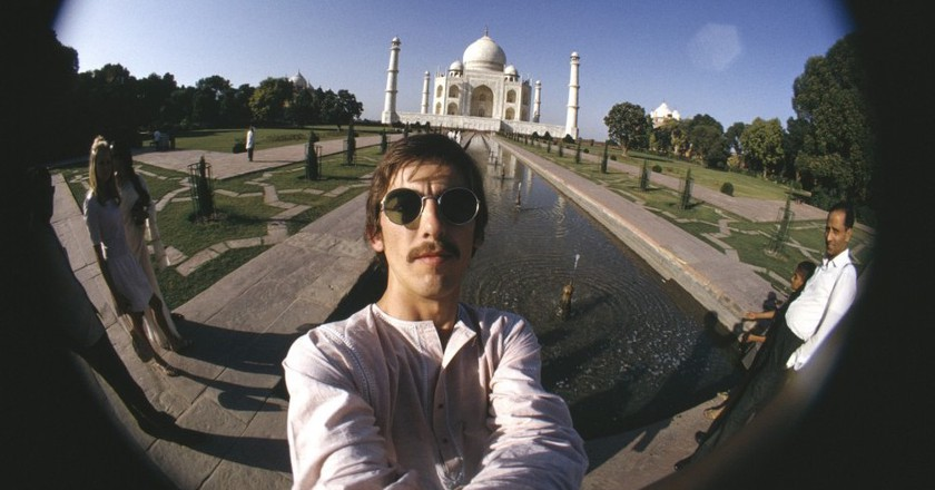 George Harrison, 'Taj Mahal Self-Portrait', 1966 | © Harrison Family