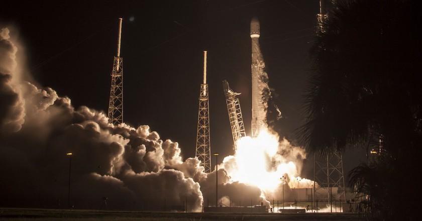 JCSAT Liftoff. | Courtesy SpaceX.