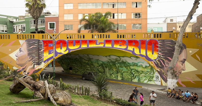 A Murals Lover's Tour of Lima's Barranco District