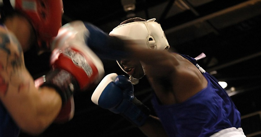 Boxing   © Rona Proudfoot/ Flickr
