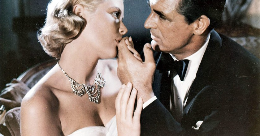 Grace Kelly and Cary Grant in 'To Catch a Thief'