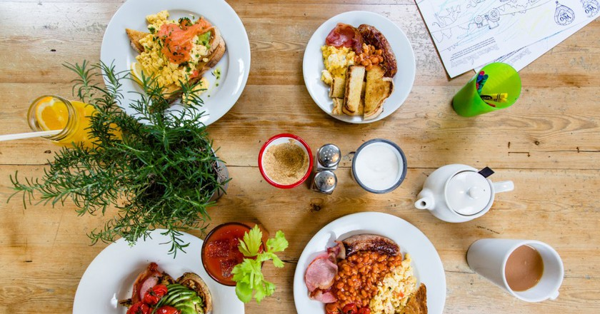 Breakfast Table I © Boston Tea Party