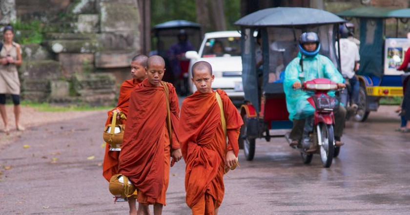 95 percent of Cambodians practise Therevada Buddhism  © Dmitry Chulov/ Shutterstock