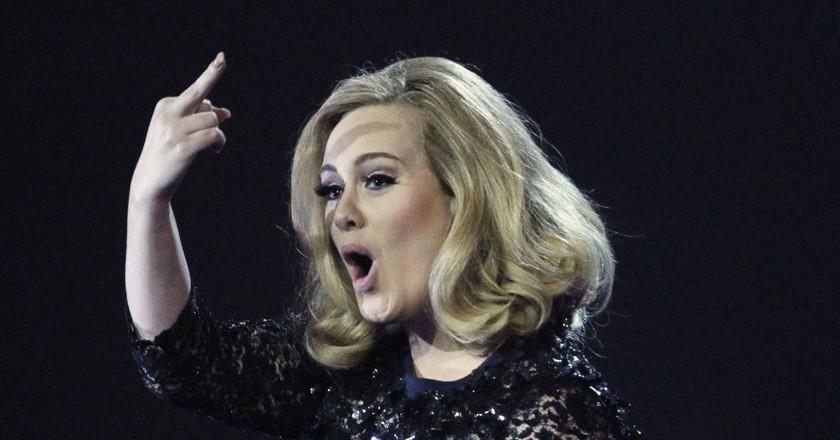 Adele let producers know exactly how she felt | ©Joel Ryan/AP/REX/Shutterstock