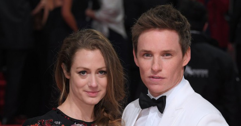 Eddy Redmayne and Hannah Bagshawe | © David Fisher / REX / Shutterstock