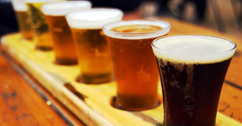 Beer sampler ©NerdPatrol/Flickr