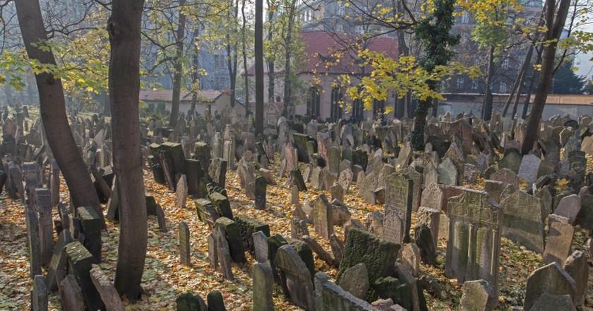 Old Jewish Cemetery   © Jewish Museum in Prague