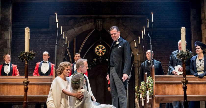 Steven Pacey and Company in RSC and CFTs Much Ado About Nothing   ©Manuel Harlan / RSC / Courtesy of Cornershop PR