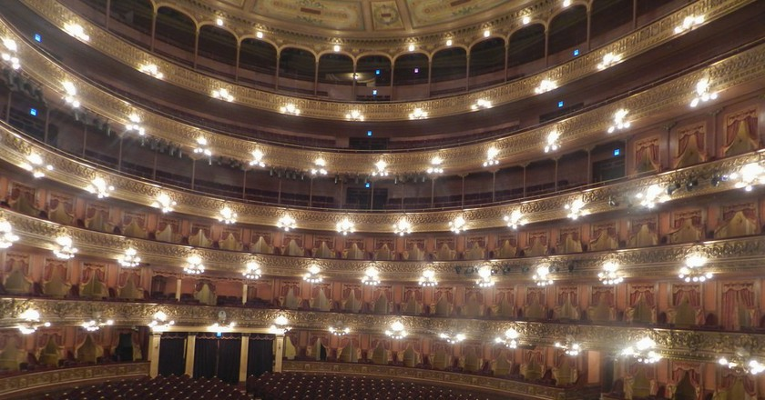 Teatro Colon is placed in the Top 5 of opera venues globally | ©  Arq Amei / Flickr